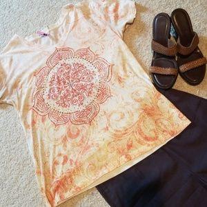 Kirra Rhinestone Zen Shirt
